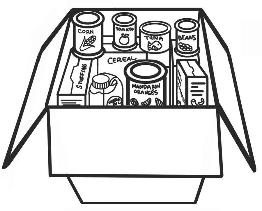Canned clipart grocery product. Food drive wallpapers in