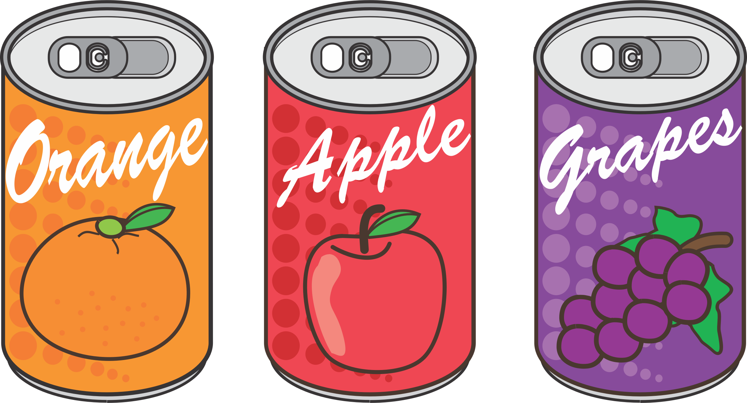 Canned transparent