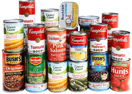 Canned food png. Lowrey school drive