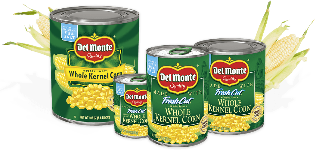 Canned vegetable labels png. Golden sweet whole kernel