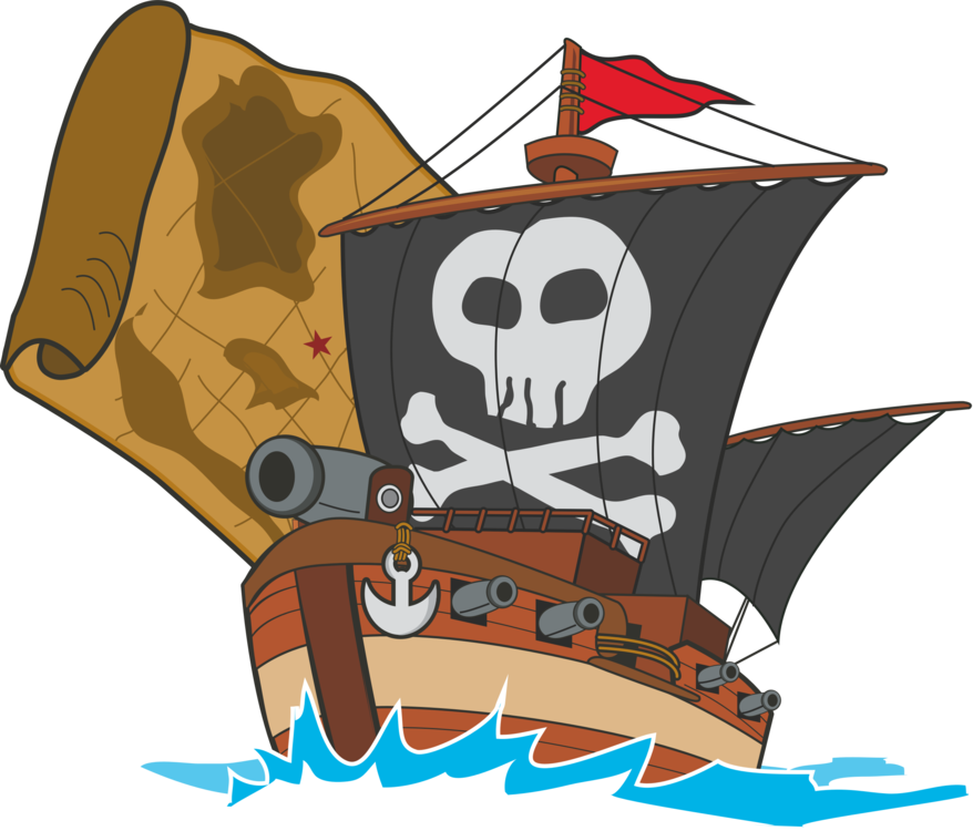 Pirate ship silhouette png. Drawing computer icons free