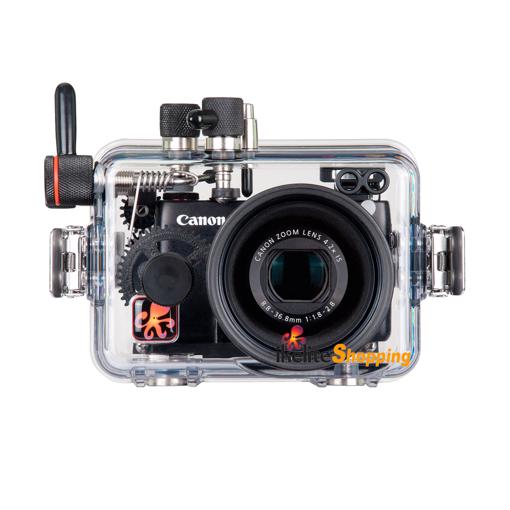 Cannon g7 x png. Ikelite underwater housing