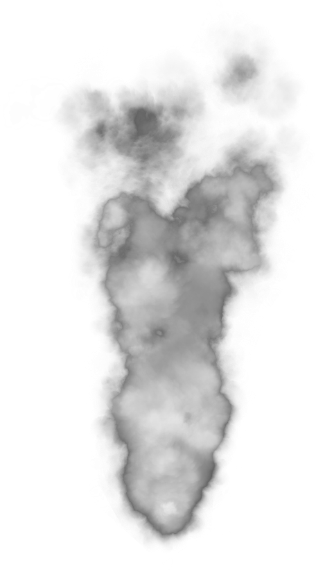 Cartoon smoke cloud png. Collection of clipart