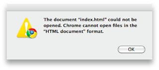 Cannot open png files. Chrome can t html