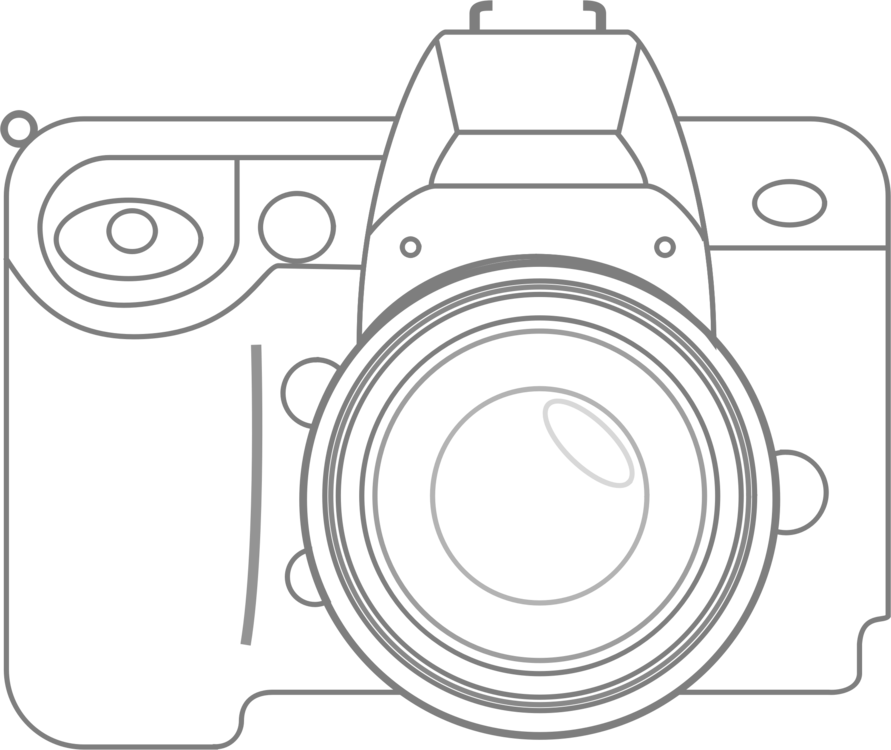 Eos d single lens. Canon drawing technical jpg stock
