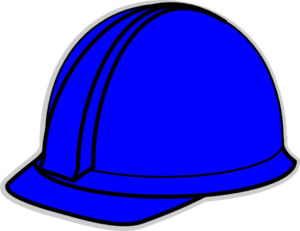 Free blue hat cliparts. Hardhat vector art picture freeuse library
