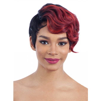 Cap clip wig. Model hair and wigs