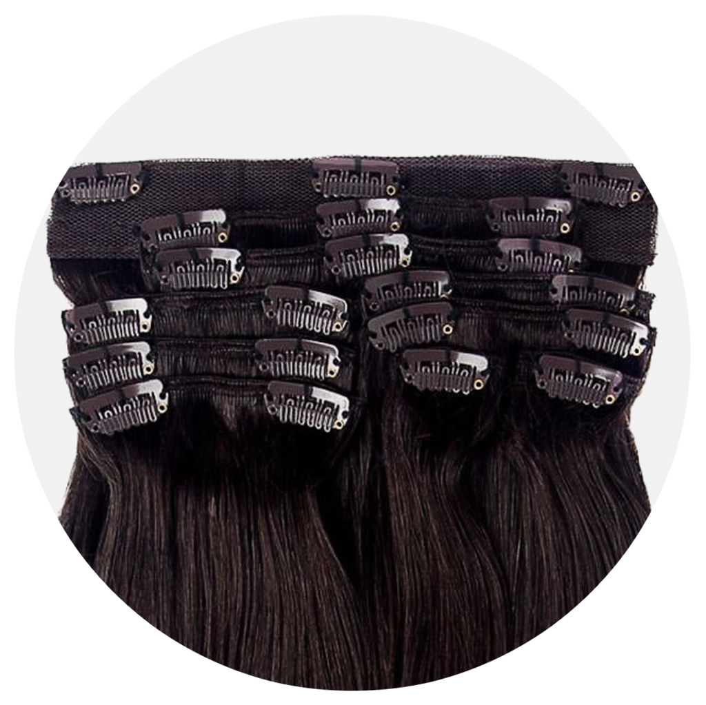 Demo hair extensions in. Cap clip wig png free stock