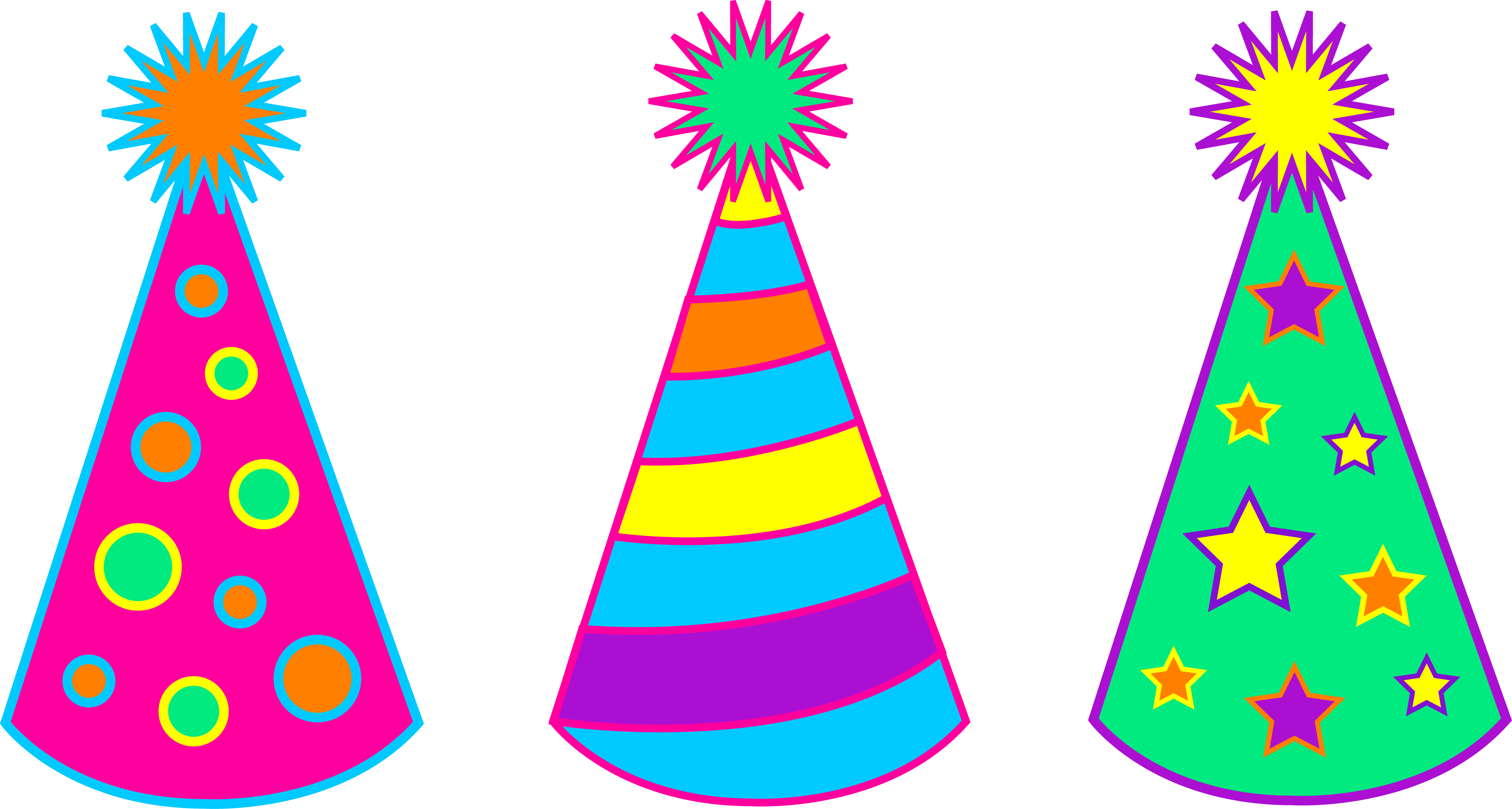 Cap clipart birthday party. Celebration pencil and in