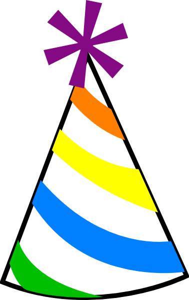 Cap clipart birthday party. Download hat free png