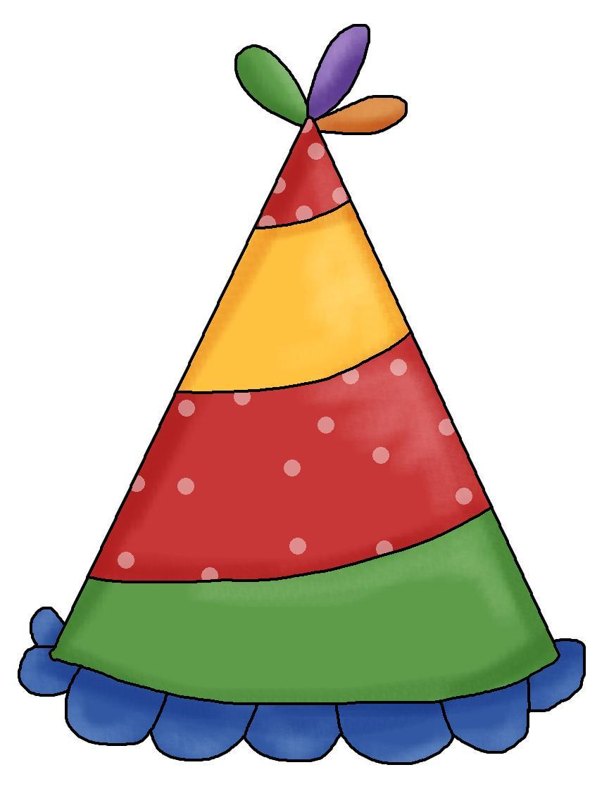 Cap clipart birthday party. Best of hat clip
