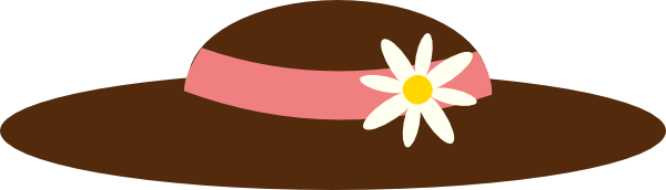 Easter clip hat. Free brown cliparts download