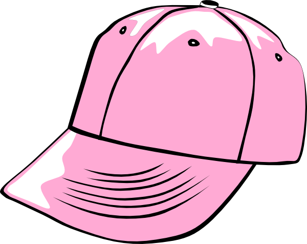 Cap clip hat outline. Download art free spring
