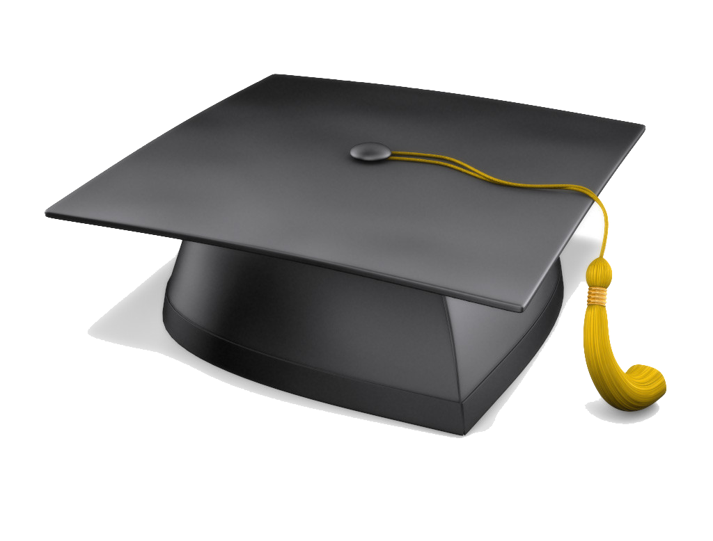 Cap graduation png. Degree hat transparent images