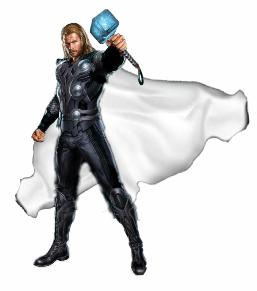 Cape render png. Thor white by mrvideo