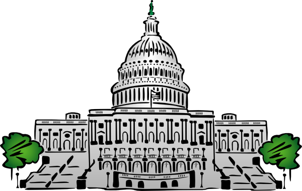 Capitol building clipart png. Us style clip art