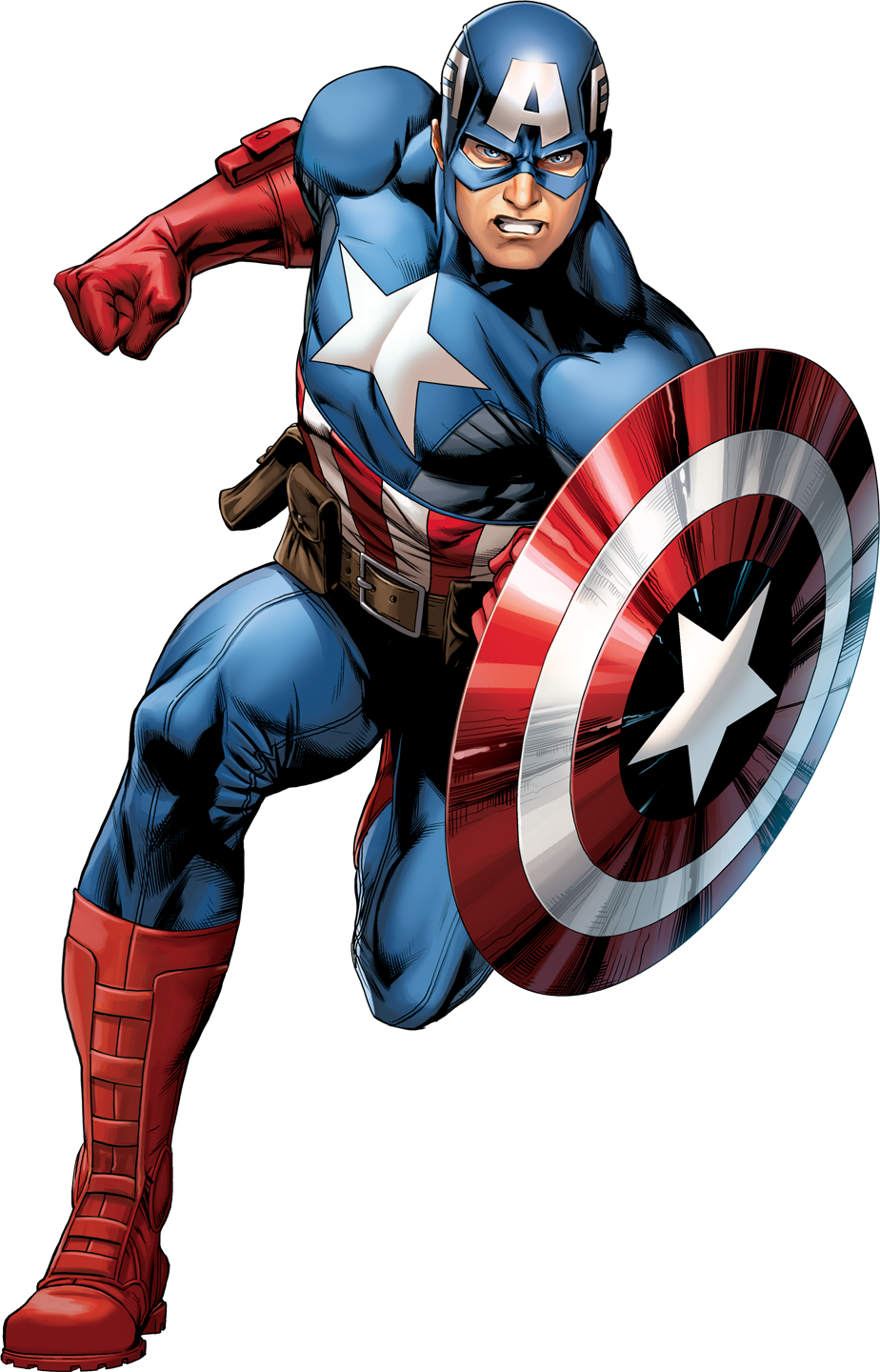 cartoon captain america png