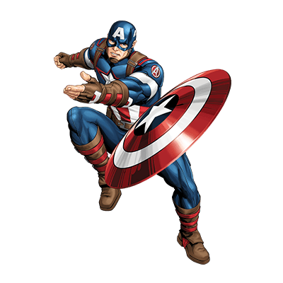 Captain america cartoon png. Marvel animated universe heroes
