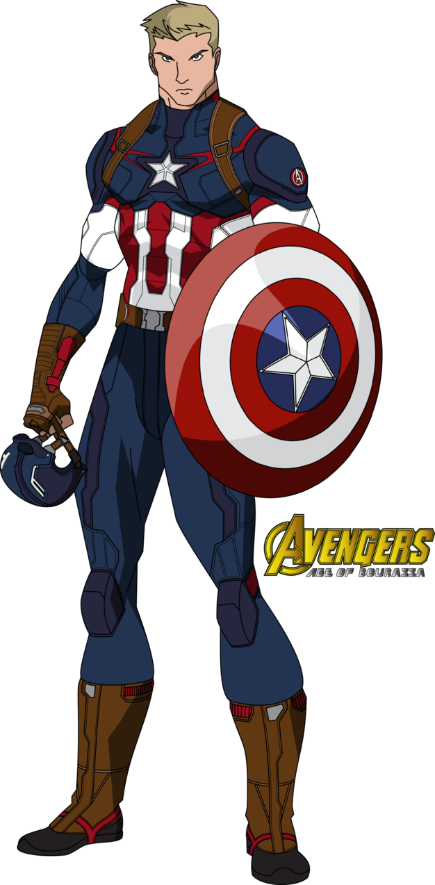 Captain america cartoon png. Avengers age of bourassa