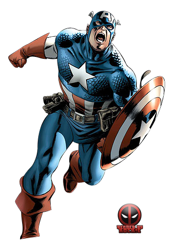 Captain marvel comic png. America images free download