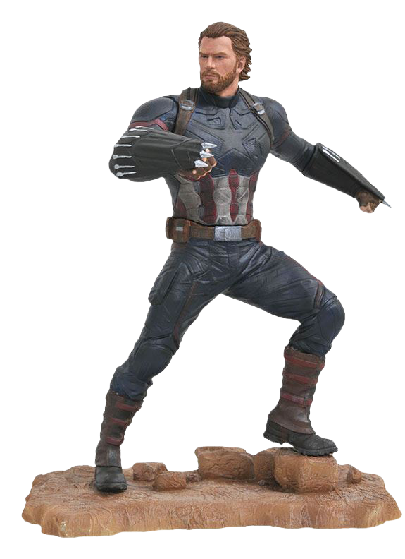 Captain america infinity war png. Avengers marvel gallery pvc