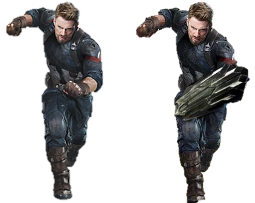 Captain america infinity war png. By kingsman captainkingsman