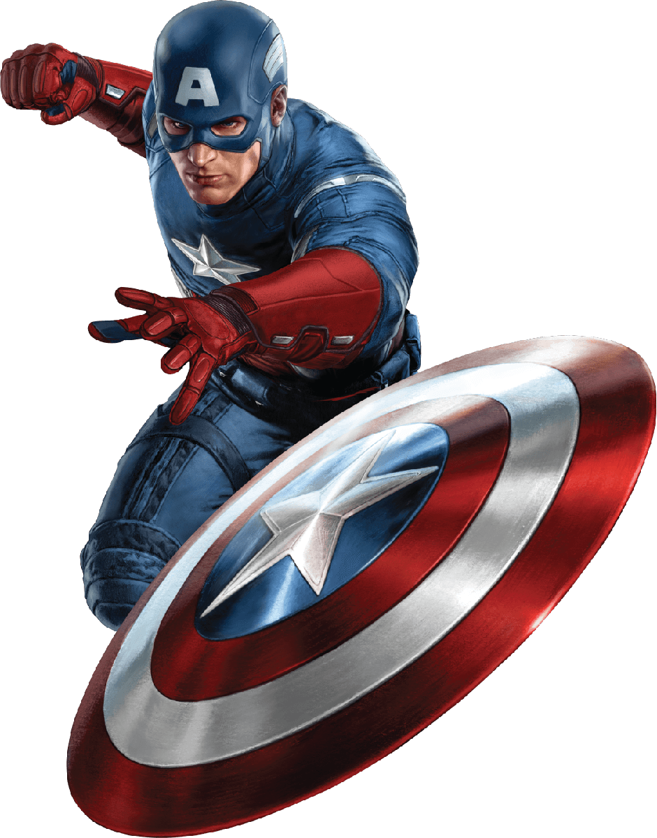 Captain america png. Shield front transparent stickpng
