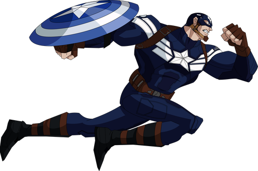 Captain america salute png. Tws aemh style by