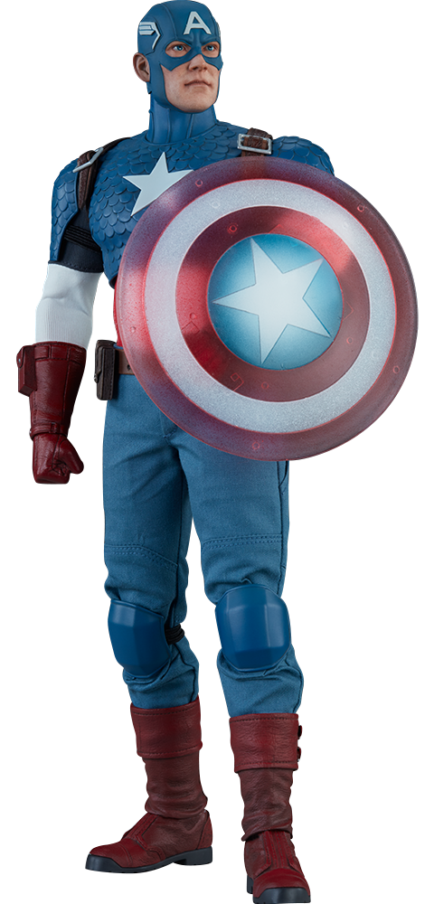 Captain america salute png. Marvel sixth scale figure