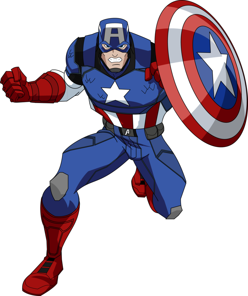 Captain america salute png. Marvel now aemh style