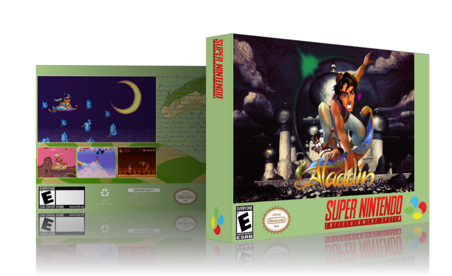 Snes aladdin png. Cover by shogun on