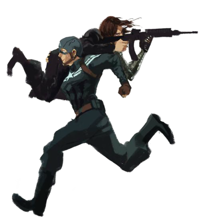 Captain america the winter soldier png. And transparent by ggreuz