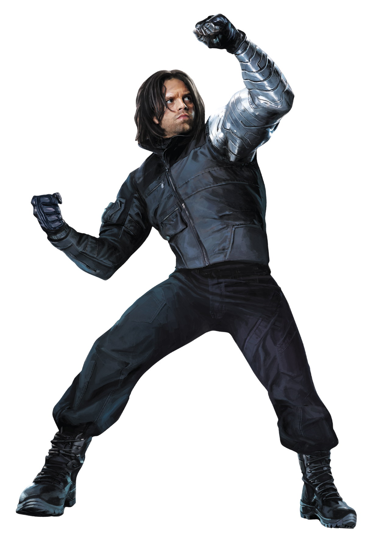Captain america the winter soldier png. Image civil war char
