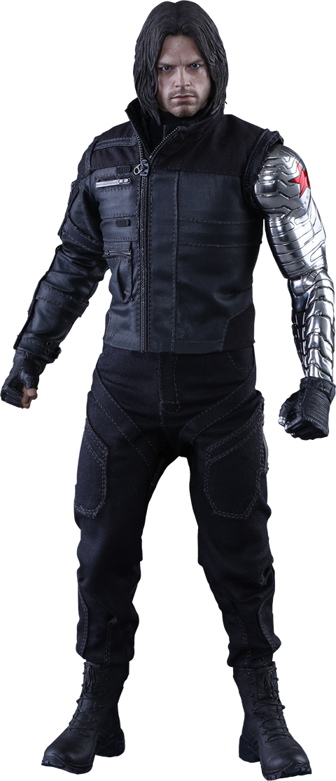 Captain america winter soldier png. Sixth scale figure by