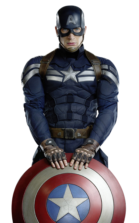 captain america face png