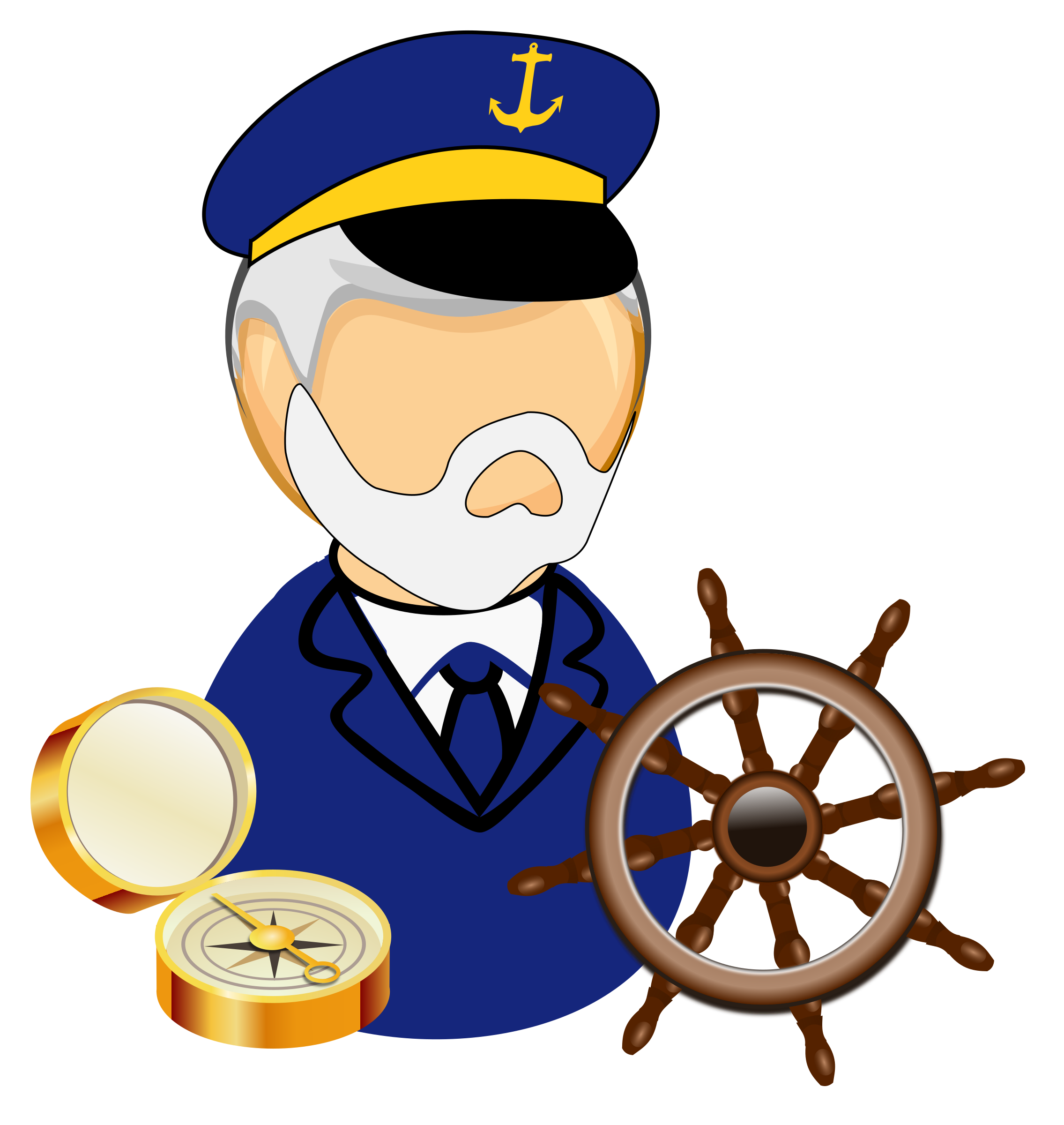 Sea big image png. Captain clipart cartoon png library