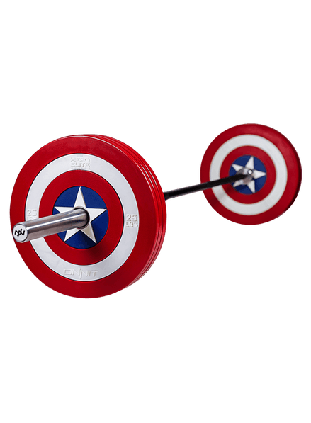 Marvel fitness onnit lb. Captain clipart barbel png free library