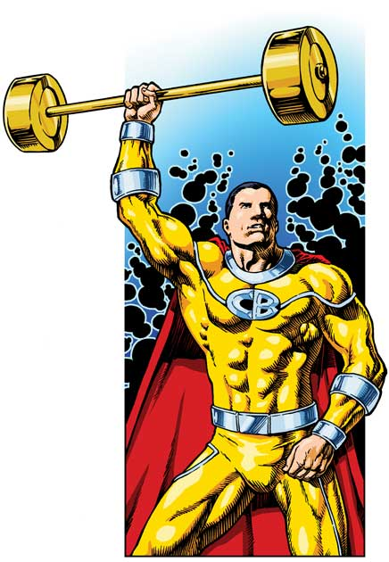 Captain clipart barbel. Barbell illustrations capsulezone advertisements