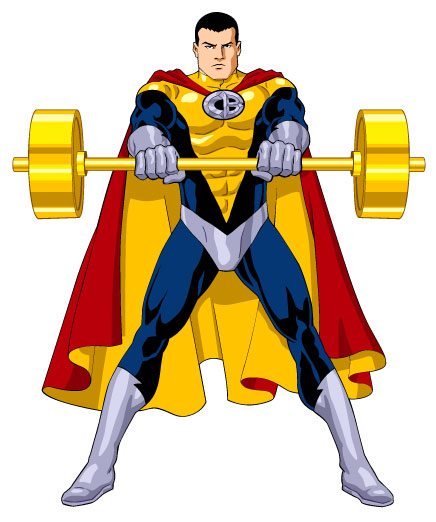 Captain clipart barbel. Barbell capsulezone advertisements