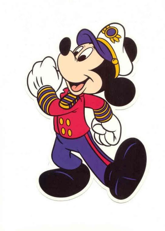 captain clipart mickey mouse