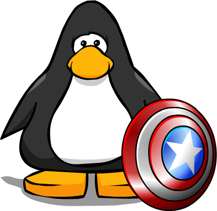 Captain clipart penguin. Image america shield from