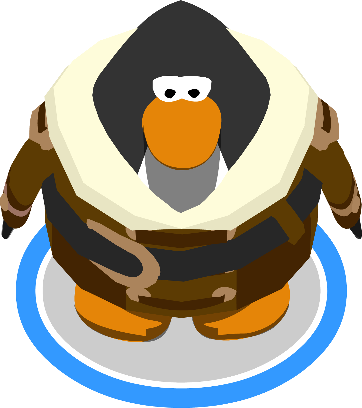 Captain clipart penguin. Image s greatcoat in