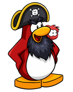 Captain clipart penguin. Rockhopper discography club fanon