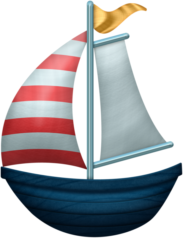 Sailboat clipart watercolor. Shell png nautical boat
