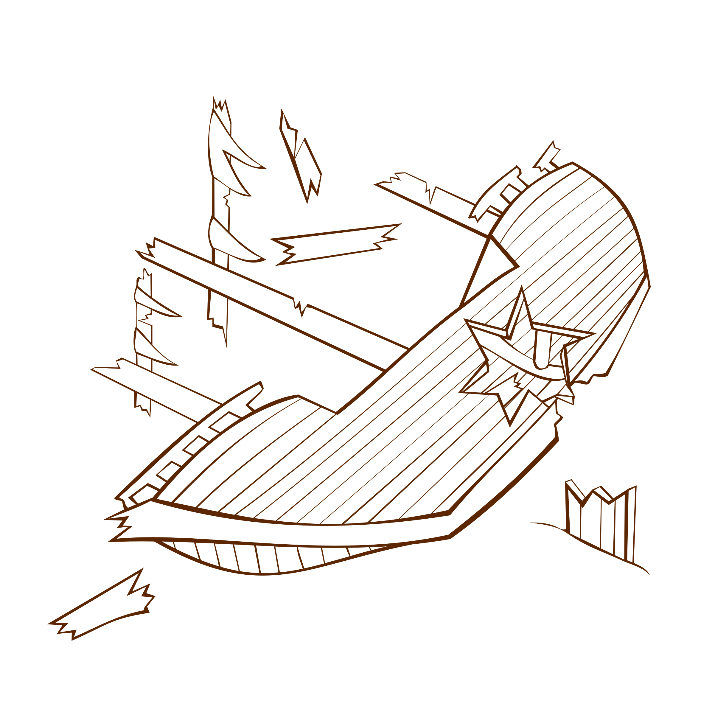 Rpg drawing ink. Free shipwreck icon download