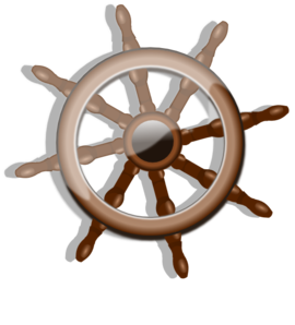 Captain clipart ship wheel. Clip art at clker