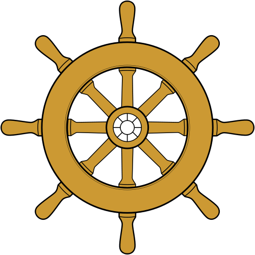 Ship svg wheel. File steering wikimedia commons