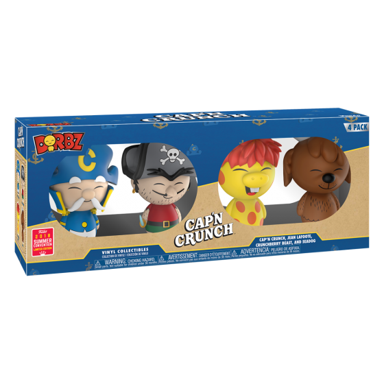 Transparent cereal captain crunch. Dorbz cap n jean