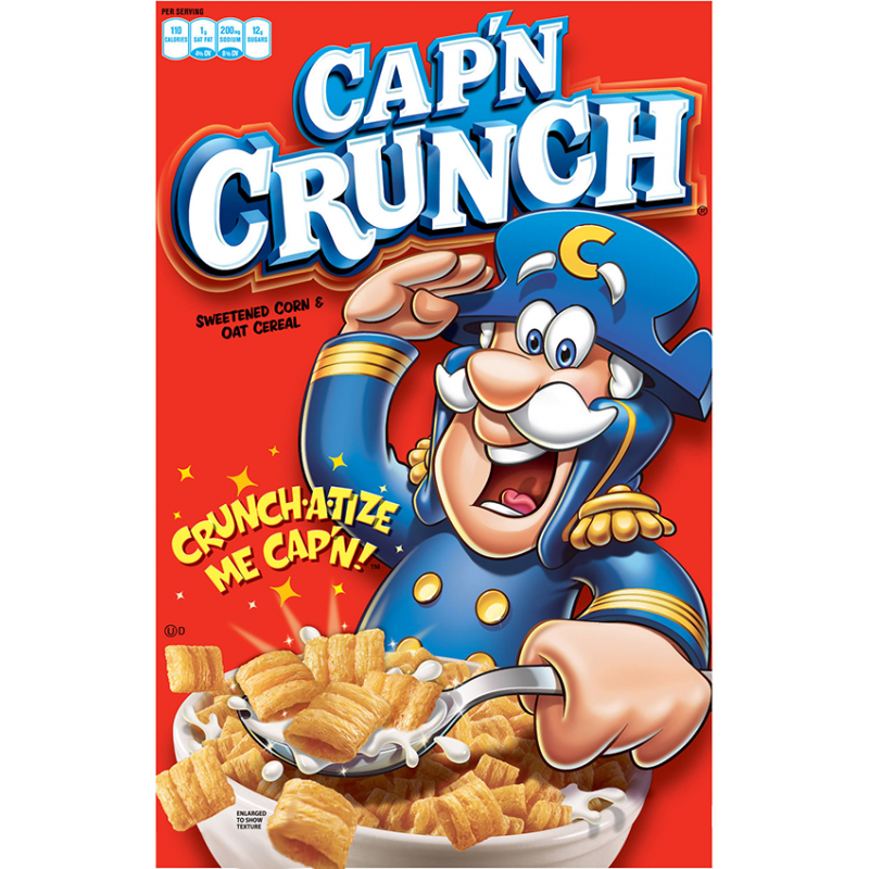 Captain crunch cereal png. Cap n g the