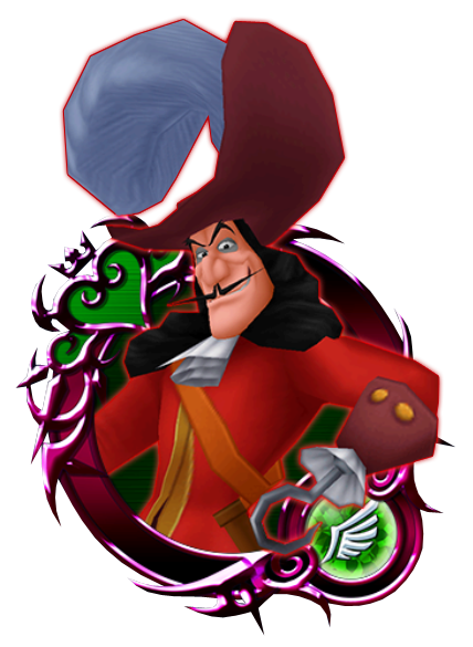 Captain hook png. Kingdom hearts unchained wiki